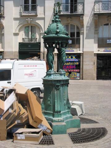 Fontaine Wallace à Nantes