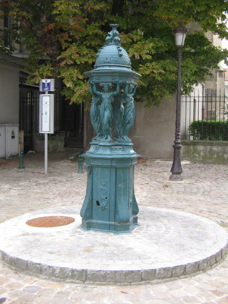Fontaine Wallace à Reims